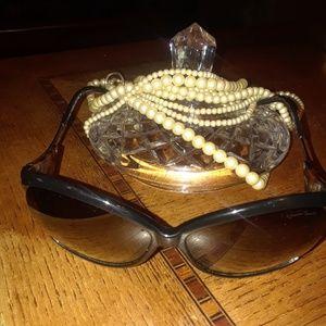 Designer sunglasses.